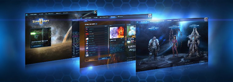 《星际争霸2》迎来全新用户界面