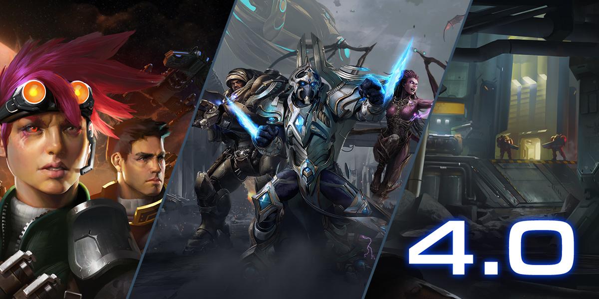 《星际争霸》4.0版本更新说明