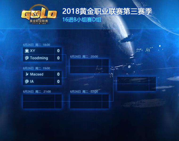 星际争霸2:GPL2018第三赛季对阵专题