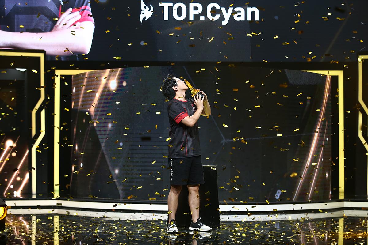 黄金职业联赛第三赛季闭幕 TOP.Cyan夺冠