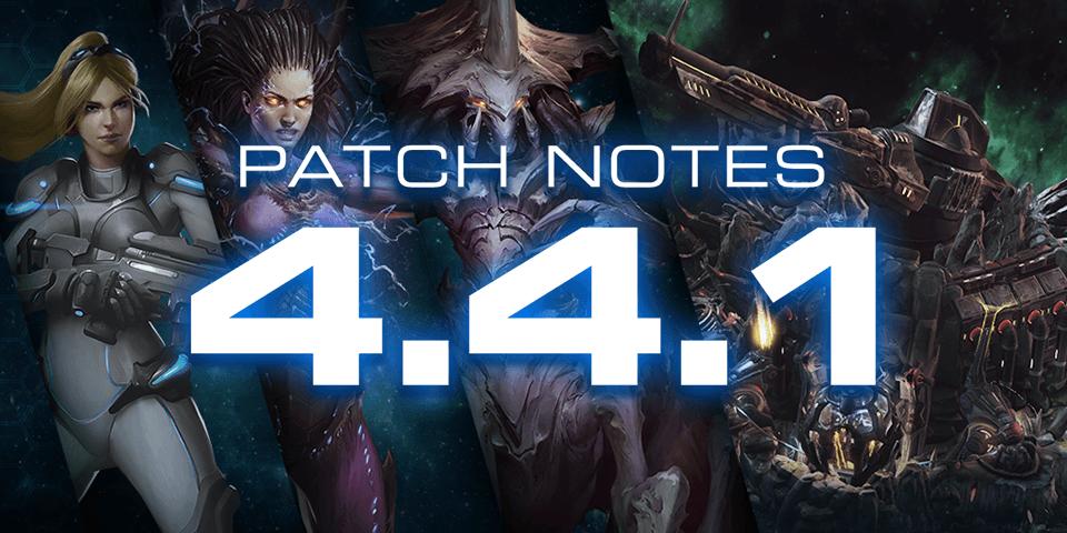 《星际争霸II》4.4.1版本更新说明